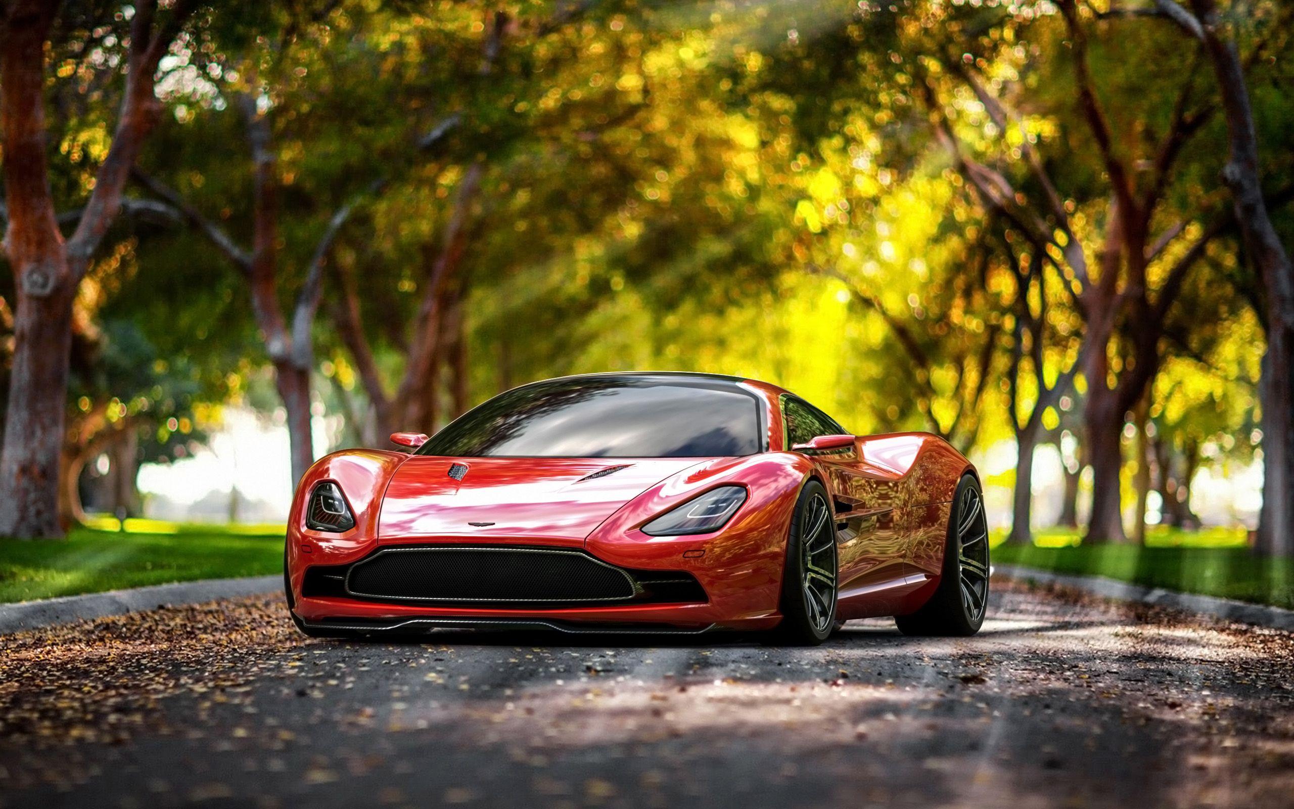 Aston Martin DBC Concept Design By Samir Sadikhov Scenic - Cool cars under 8k