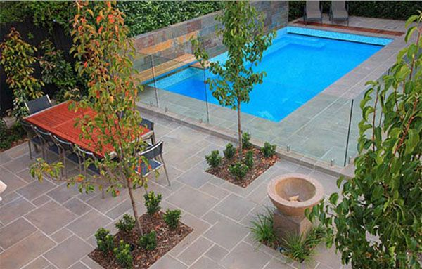 Simple Gardens modern swimming pool design and simple garden ideas modern