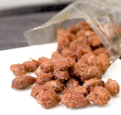 Gebrannte Mandeln ohne Zucker (Low Carb) #gebranntemandeln
