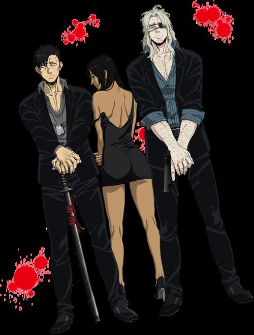 Anime Gangsta Gangsta anime, Anime, Gangsta