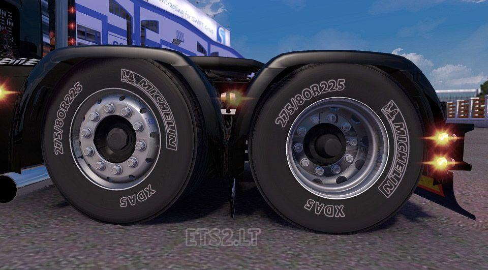 Euro Truck Simulator 2 HD Michelin Alcoa Lastik – Wheels