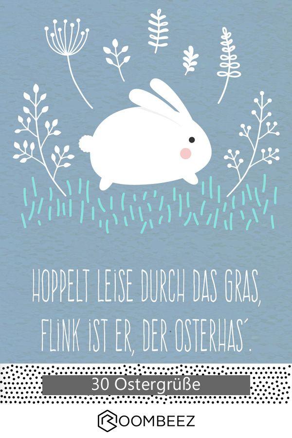 ? 30 kostenlose Ostergrußkarten zum Ausdrucken & Verschenken ?
