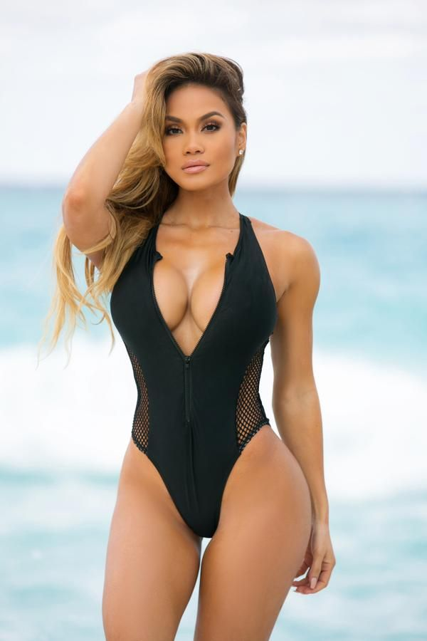 97df41839276a Double OH Seven One Piece Swimsuit