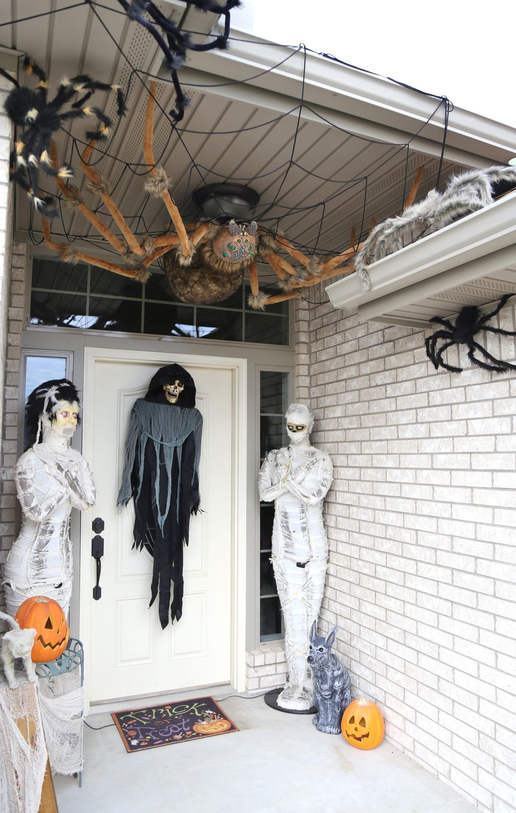 My Haunted Porch 2016 Spider was bought at Spirit