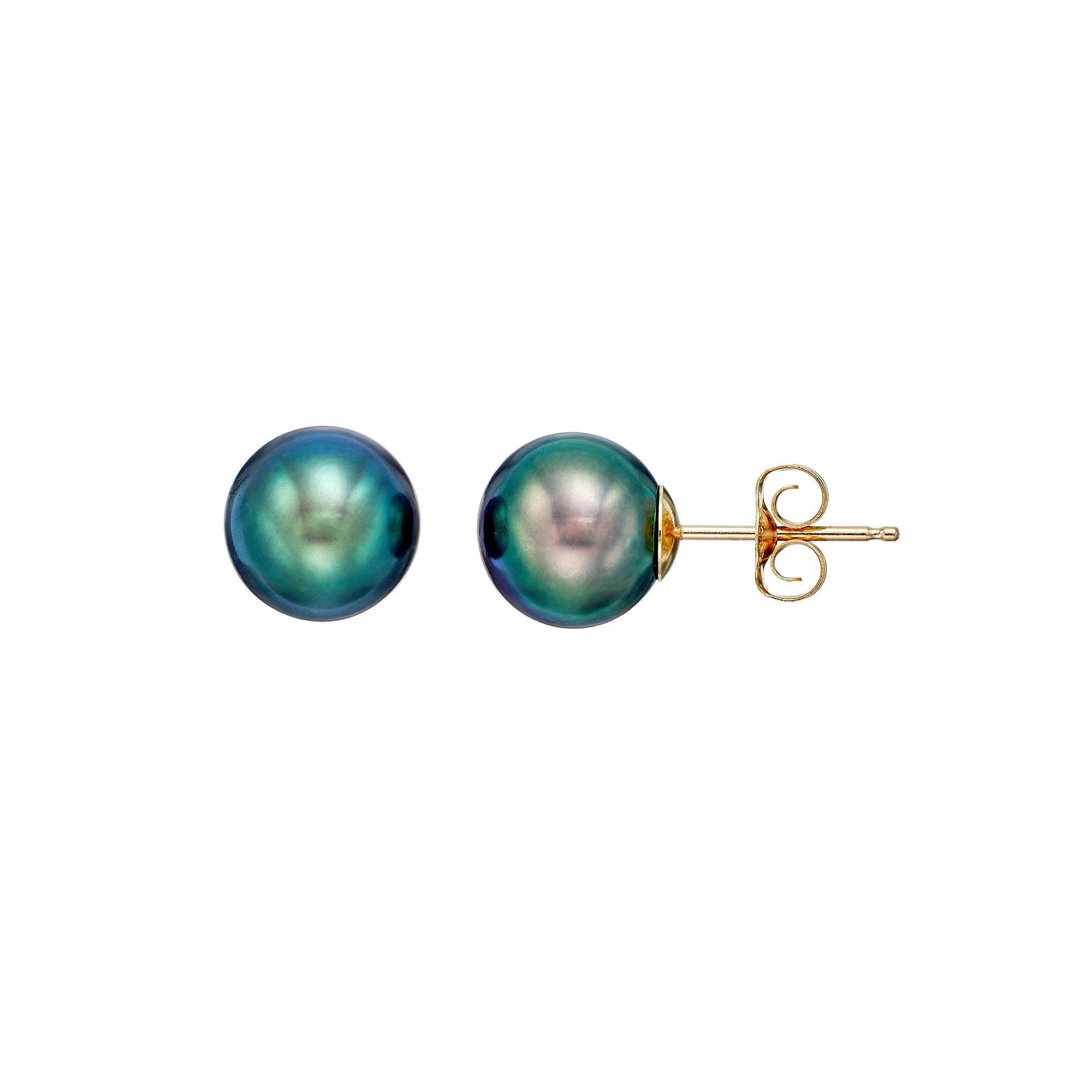 rrp cultured only pearl stud gold products earrings