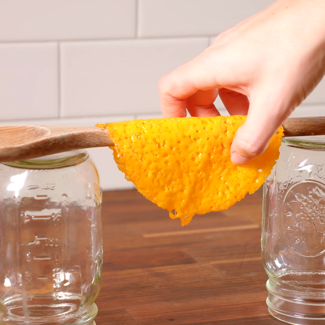 Creating a keto-friendly gluten-free tortilla has never been easier thanks to cheese taco shells. G