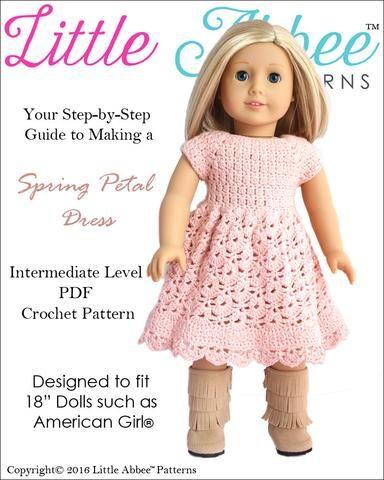 Spring Petal Dress Crochet Pattern | Cosas