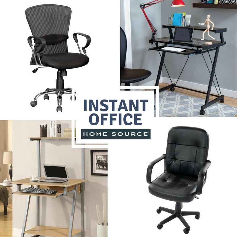 Small Space Homeoffice Corner Desk: Instant Office #office #officedesign #officedecor