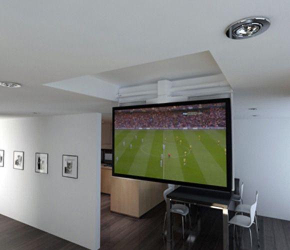 Bedroom Ceiling Mounted Tv Zen Bedroom Decor Japanese Bedroom Door Jack Wills Bedroom Ideas: TV Ceiling Hinge With Swivel