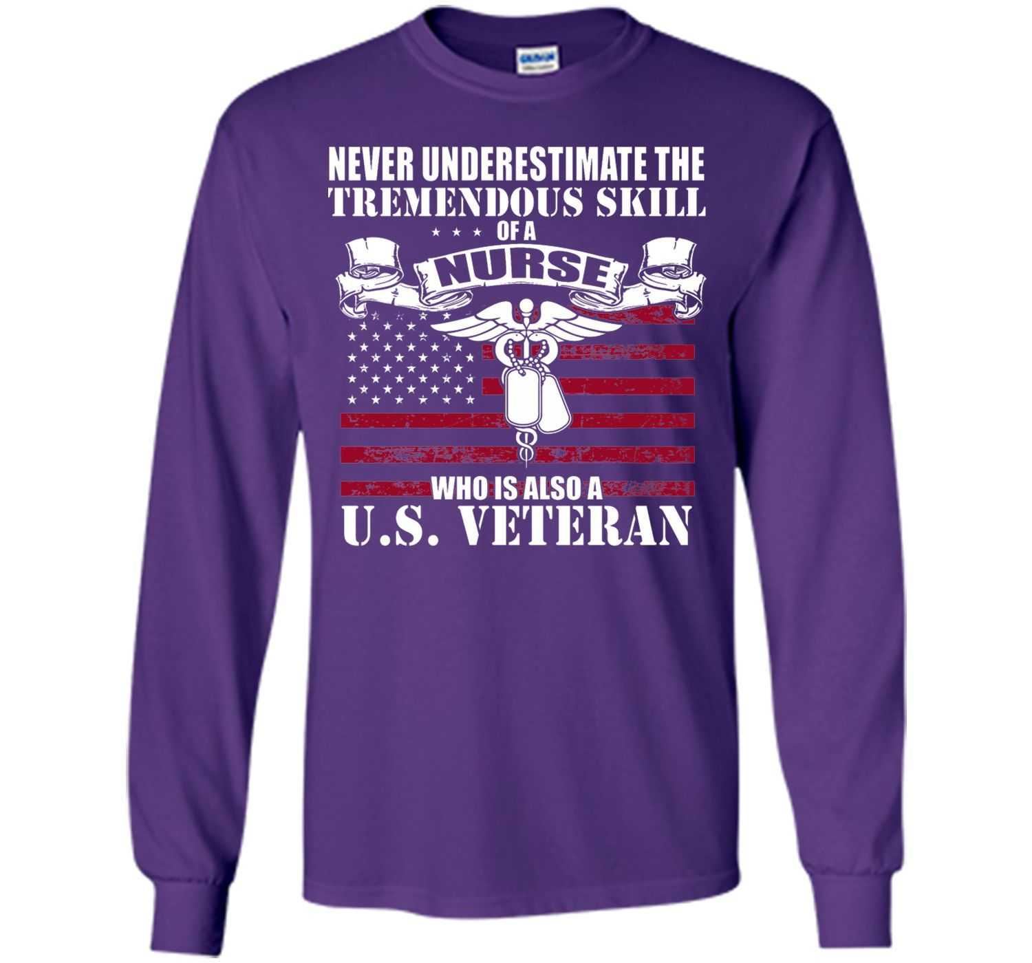 Veterans Nurse T Shirt TShirt Long sleeve tee shirts