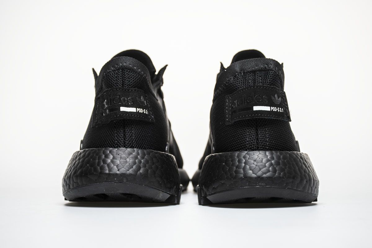 04ad4418fedf Adidas P.O.D-S3.1 Boost B37366 Triple Black Sneaker for Sale6 ...