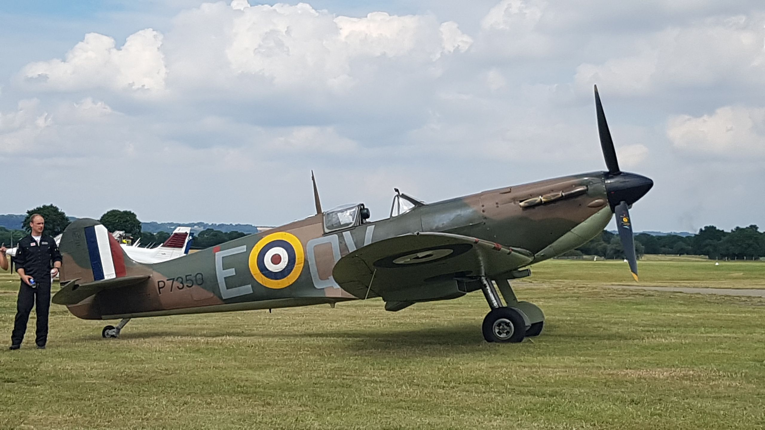 Spitfire Mark 2 Wwii fighters, Battle of britain