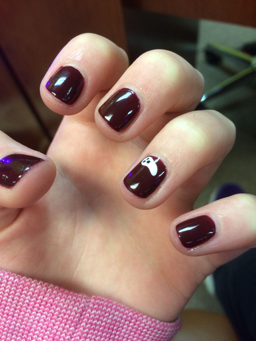 Ghost Nails for Halloween!👻   Nails, Halloween nails, Nail ...