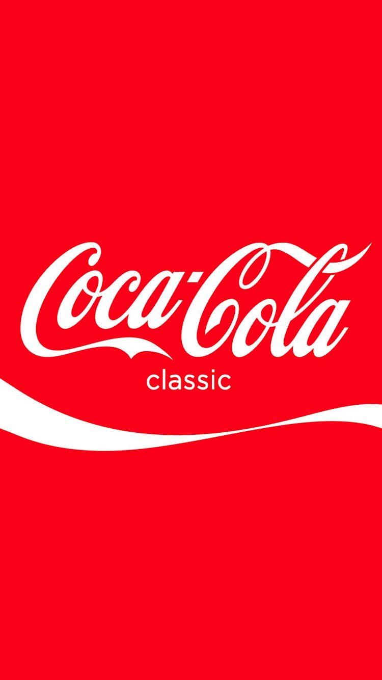 コカコーラのロゴがおしゃれなiphone壁紙coca Cola Iphone Wallpaper コカコーラ Iphone壁紙 ロック画面用壁紙