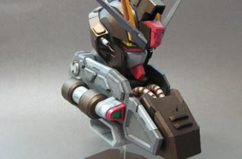 GAT-X105E Strike Noir Bust Papercraft