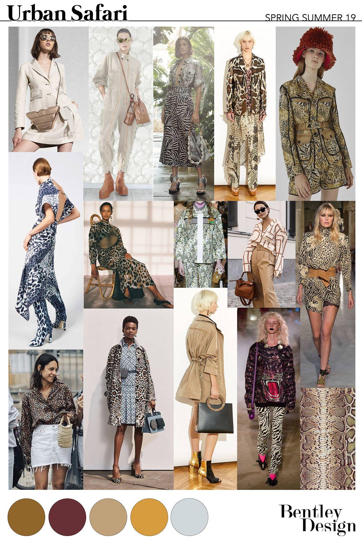 Freelance Fashion Designer - SS19 URBAN SAFARI | Trends ...