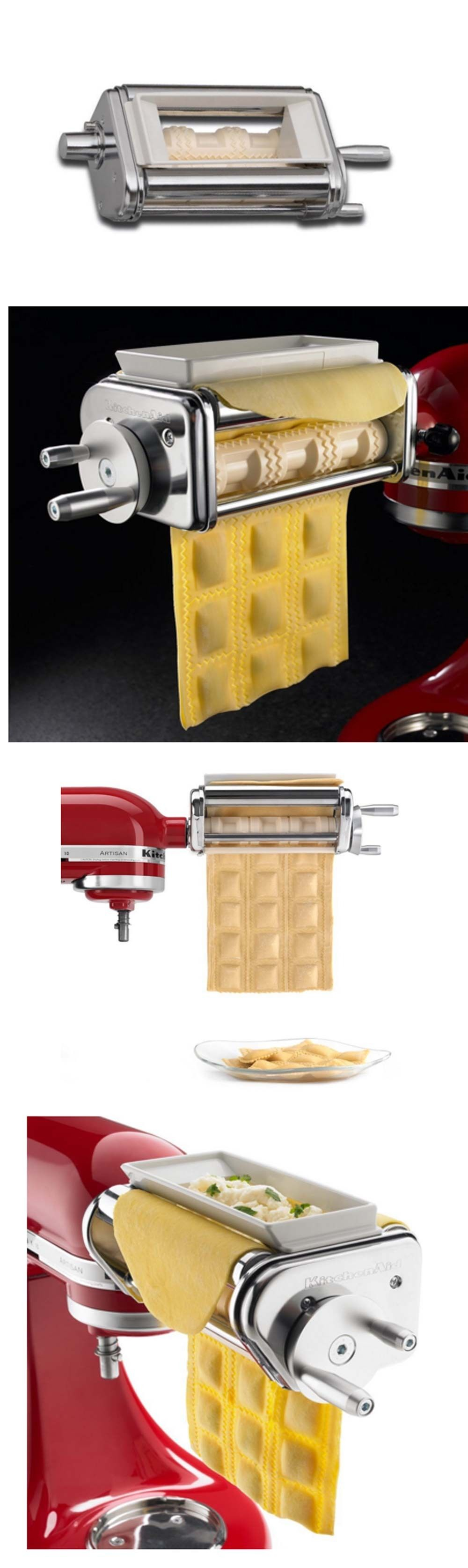 Pasta Molds and Presses 178058: Ravioli Maker With 6 Rollers ...