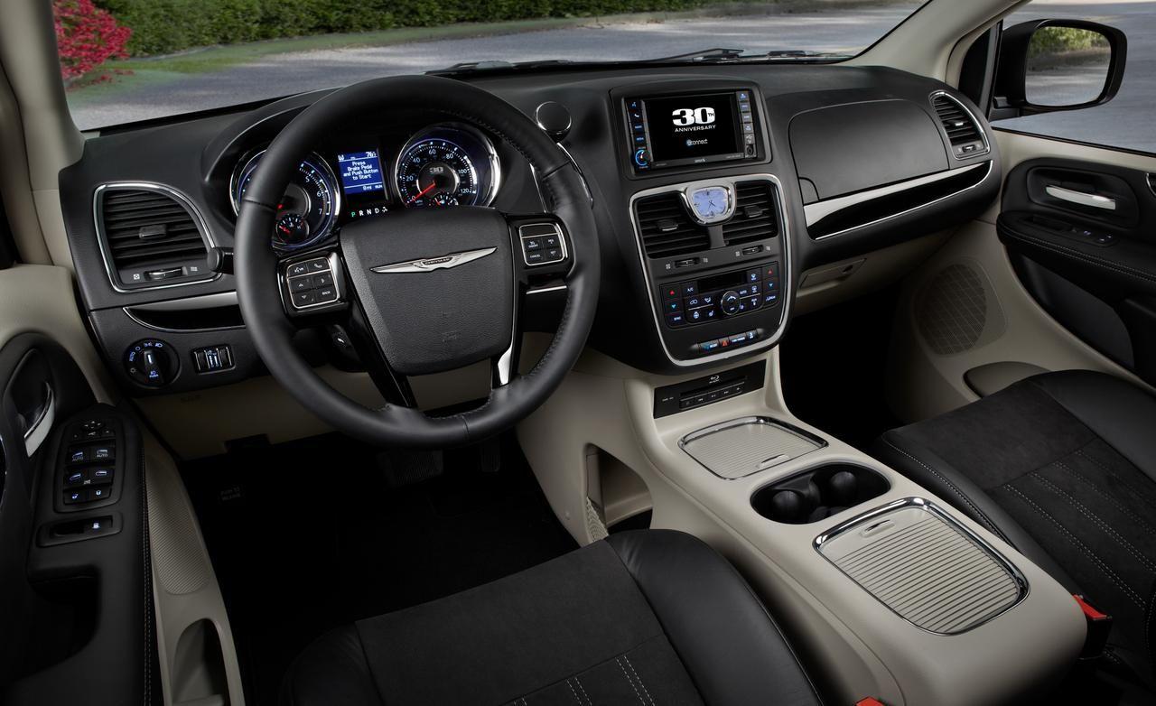 2014 Chrysler Town And Country Interior Grand Caravan Mini Van