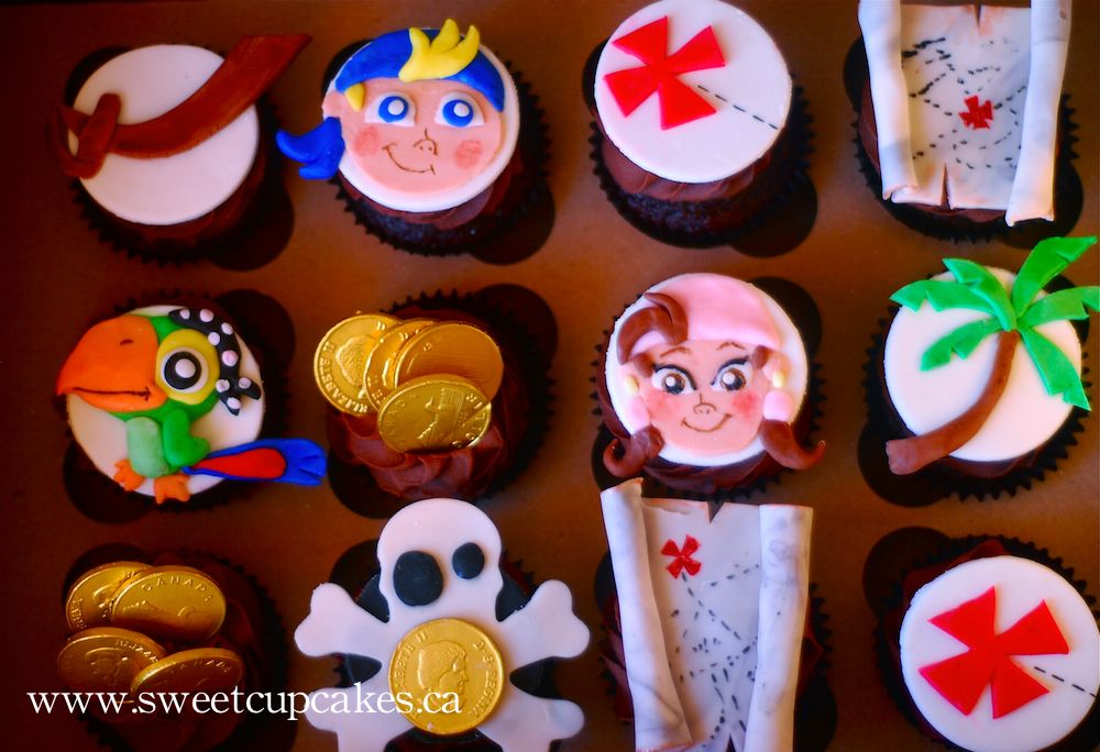 jake and the neverland pirates cupcakes - photo #13