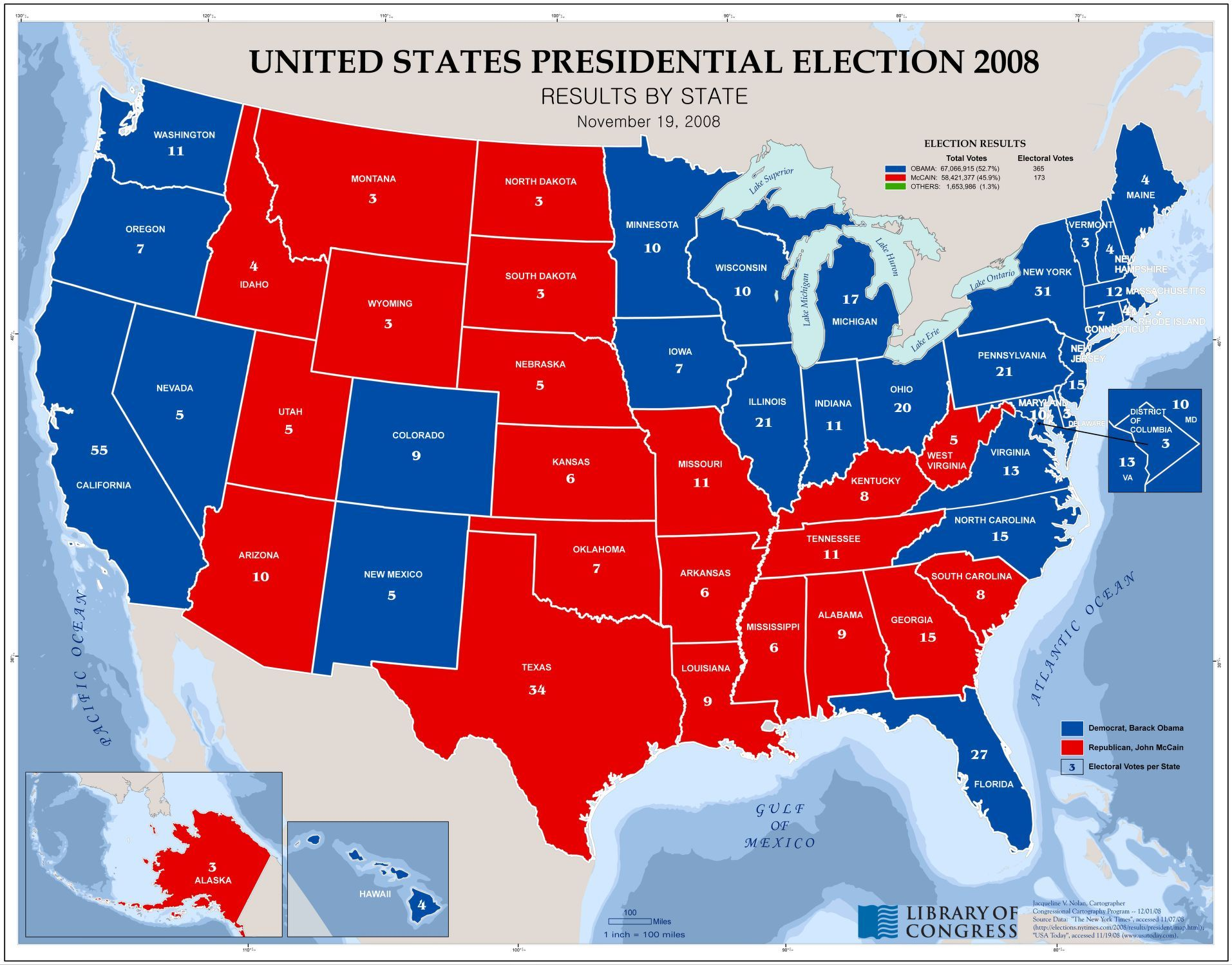 Us Map Voting Results - 2016 us map vote