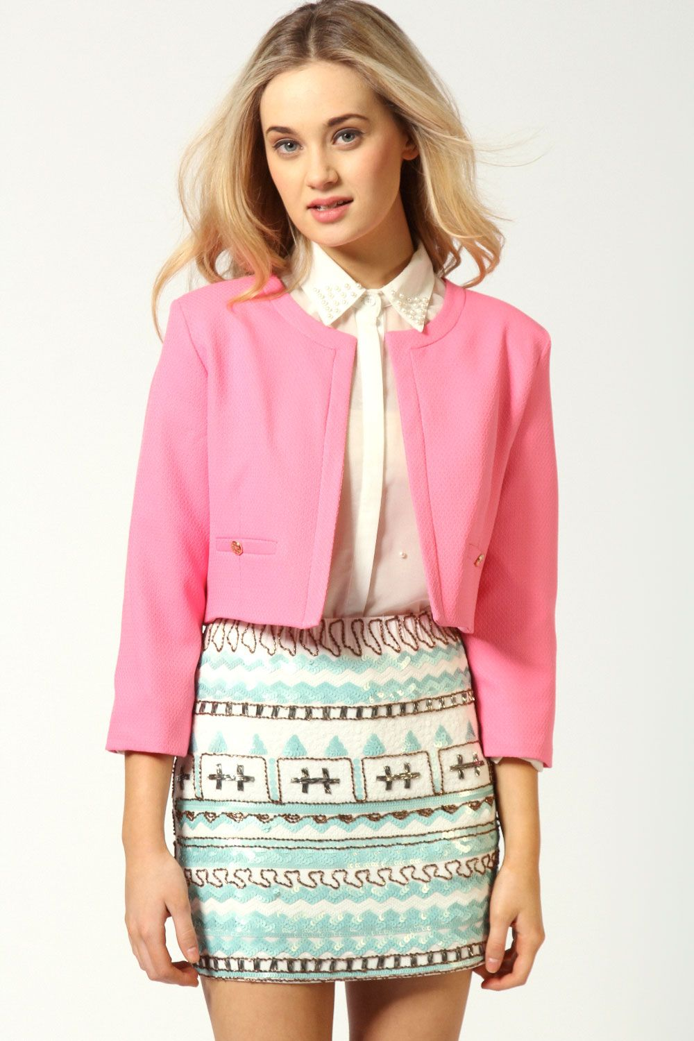 Work Jacket Or Wedding Garden Party Depends How Bright The Pink