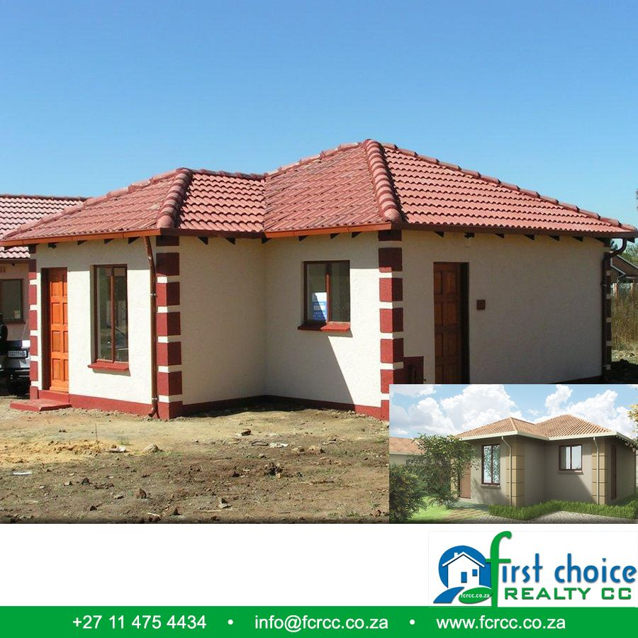 Tuscan Style development in Vanderbijlpark ! 2 & 3 Bedroom plans available Click here for more: http://besociable.link/yT Visit our website: http://besociable.link/4g #Vanderbijlpark #affordablehousing #property
