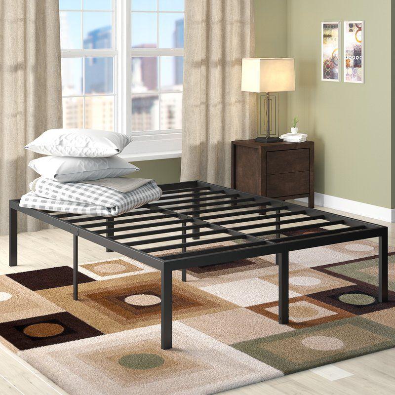 Wayfair // Platform Slat Bed Frame // Latitude Run Yetter