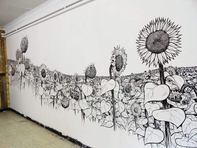 Drawing On Walls With Permanent Markers Mattias