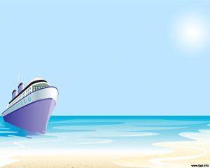 Plantilla Powerpoint Crucero Para Viajar Por El Mundo Agencias De Turismo Toma De Corriente Powerpoint