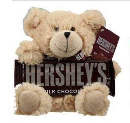 Hershey's Chocolate Bar With Plush Teddy Bear. Who wouldn ...