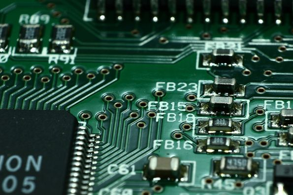 11 Myths About Pcb Layout Macro Photography Electronic Components Circuit Board