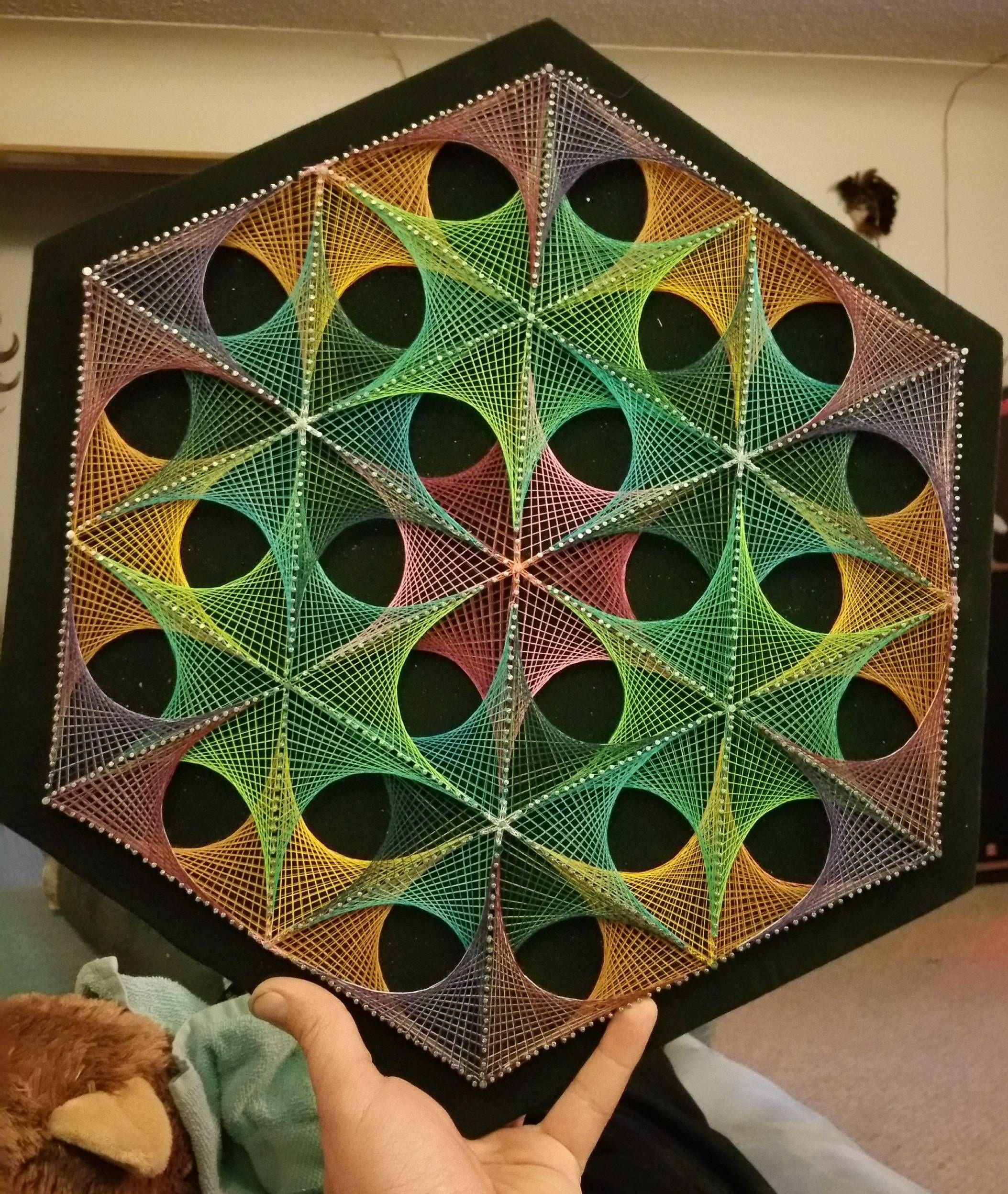 String Art Geometric String Art Internet And String Art