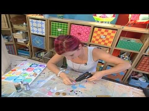 deko tipps dekorative magnete selber machen youtube geschenkideen pinterest magnete. Black Bedroom Furniture Sets. Home Design Ideas