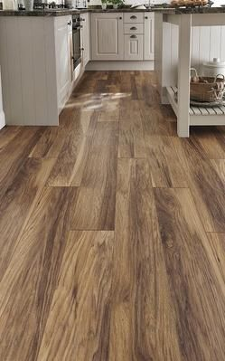 Howdens Professional Fast Fit V Groove Hickory Laminate | dream home ...