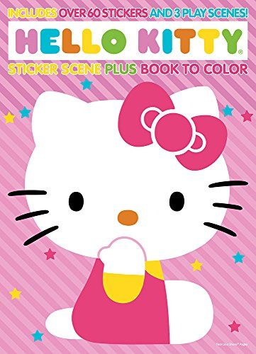 Bendon Hello Kitty Sticker Scene Coloring Book Want To Know More Click On The Image Note It Is Affiliate Link To Amazon Hello Kitty Book Hello Kitty Kitty