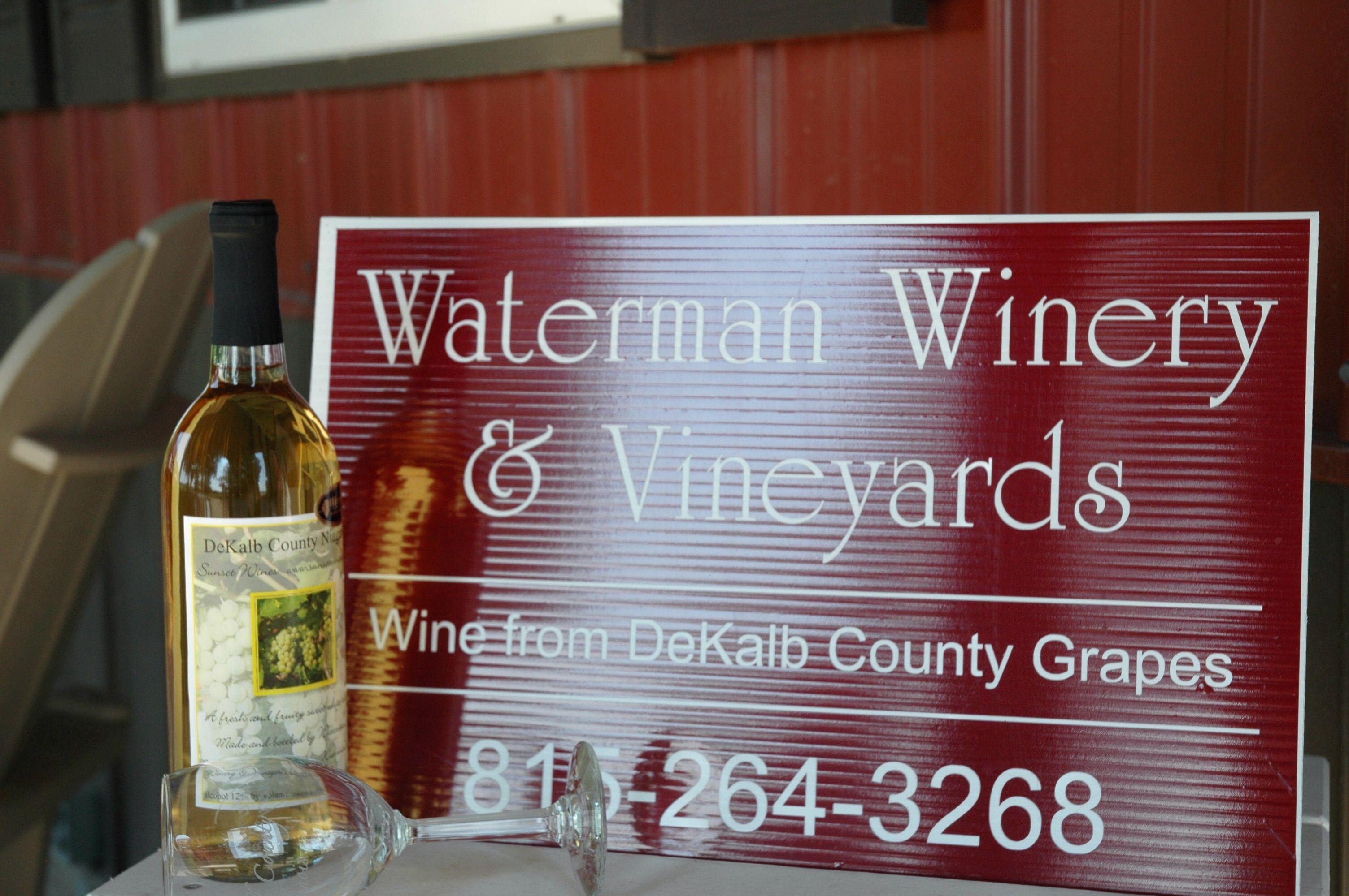 Waterman Winery Vineyards 11582 Waterman Road Waterman Illinois Winery Waterman Wines
