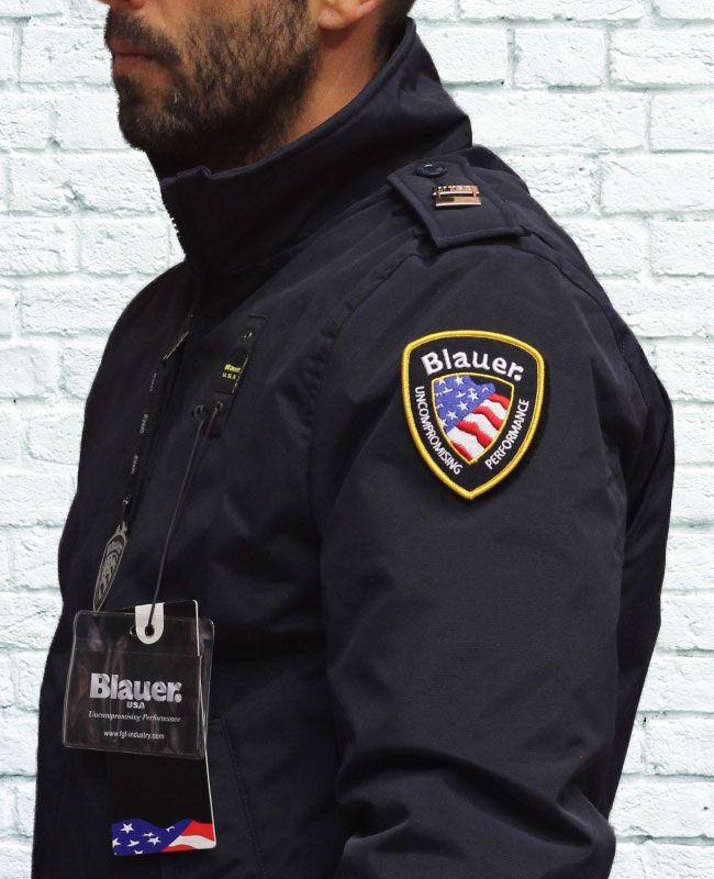 giacca blauer poliziotto , un classico di Blauer USA