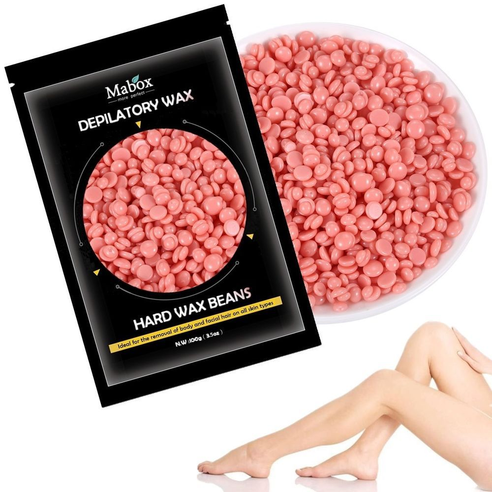 Hair Removal Depilatory Hard Wax Beads Beans All Skin Types No