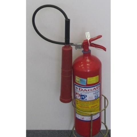 Extintor De Incêndio Co² 06kg - Dióxido De Carbono