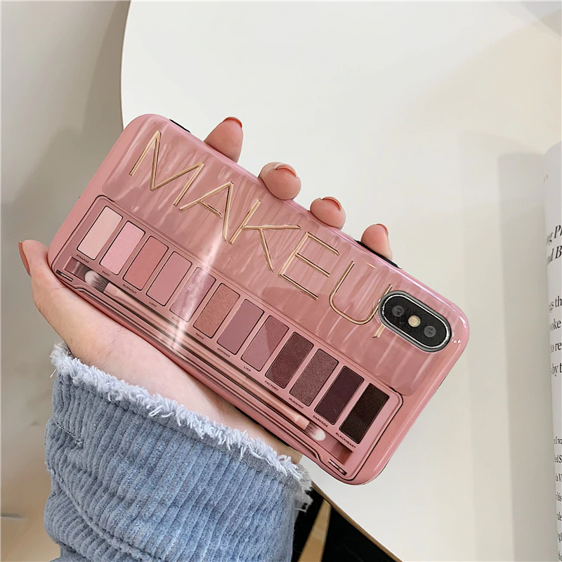 FREE SHIPPING Makeup Eyeshadow Palette phone Case For