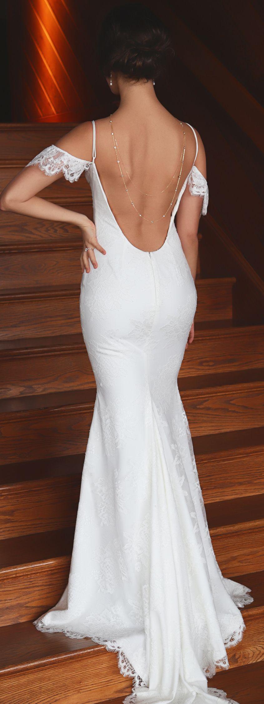Dakota u crystal back necklace amy o bridal body jewelry