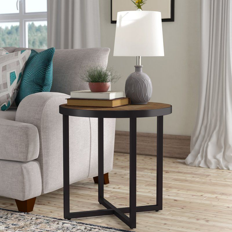 Susanna Round End Table Chair Side Table Living Room End Tables End Tables