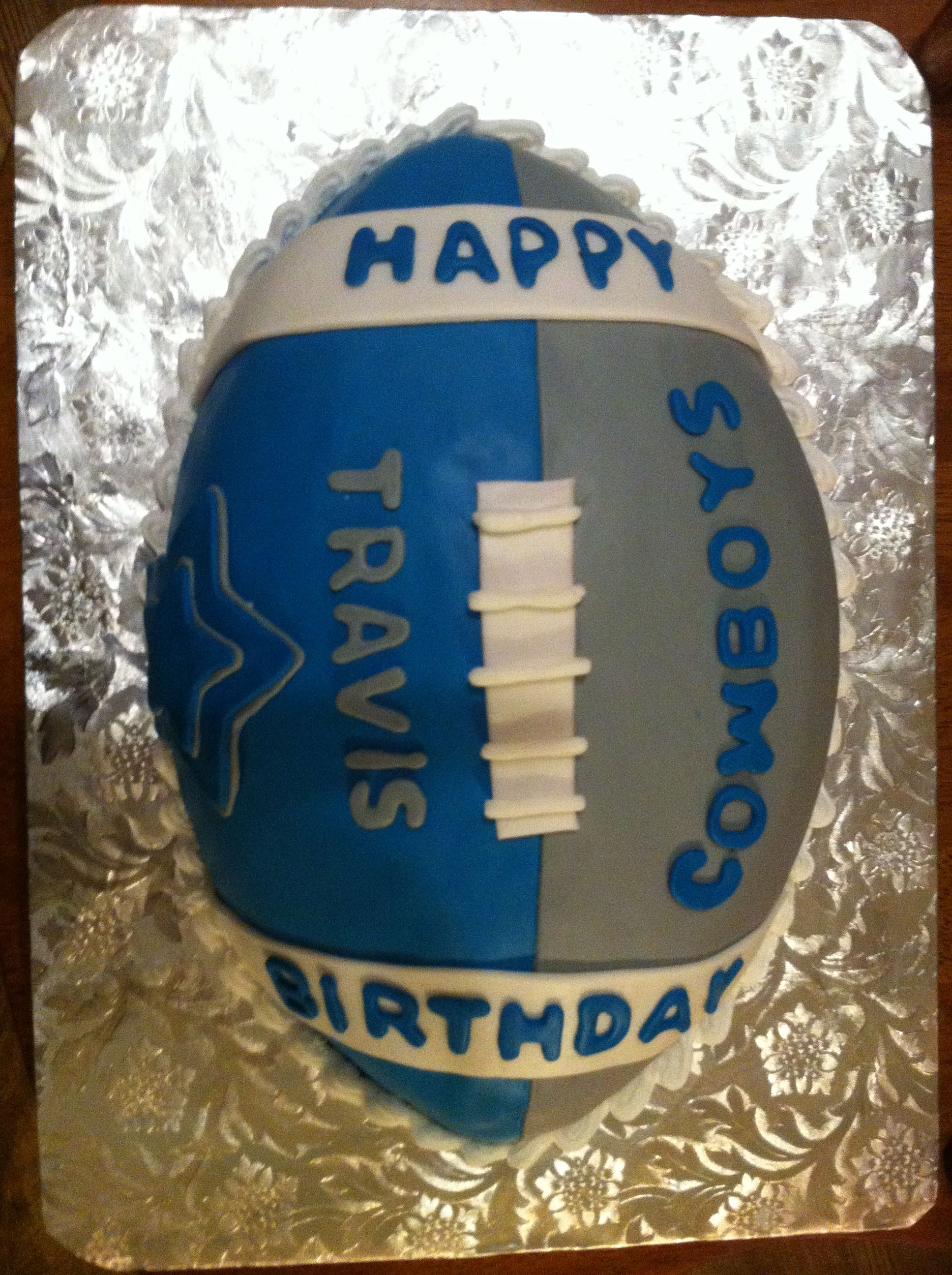 Dallas Cowboy Cake Cowboys Military Cakes Fathers Day