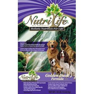 Nutri Life Golden Duck Dog Food Dog Food Recipes Dry Dog Food