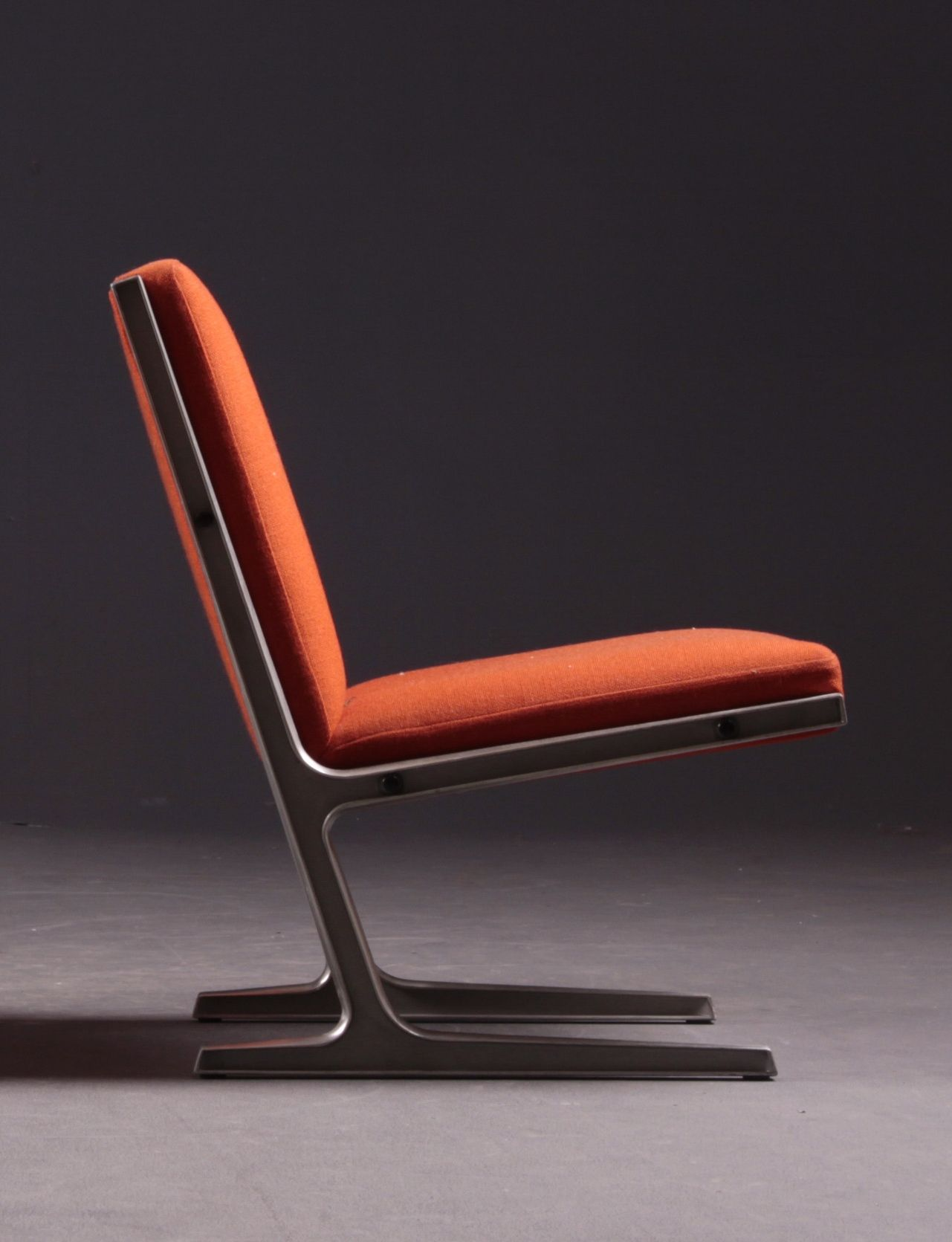 Ditte and Adrian Heath Steel Frame Lounge Chair for Cado 1960s