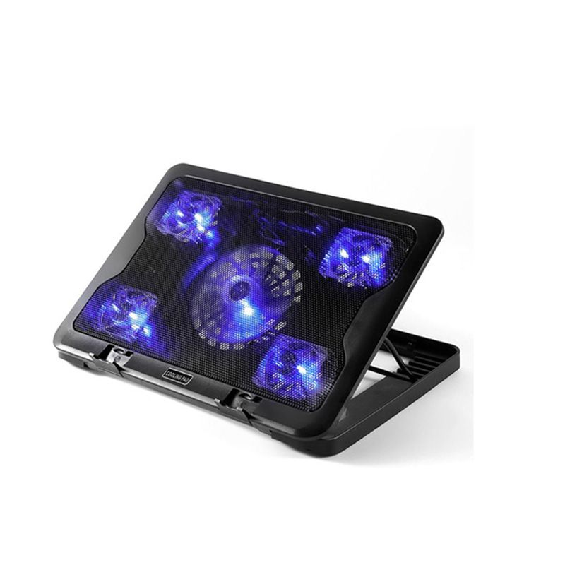 Quiet Laptop Cooling Pad Led Base Stand For Macbook Laptop