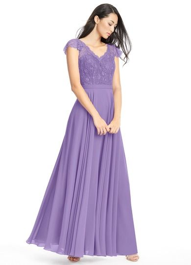 9970a794f53 AZAZIE CHERYL. Cheryl is a brilliant floor-length bridesmaid dress in an  A-line cut.  Bridesmaid  Wedding  CustomDresses  AZAZIE