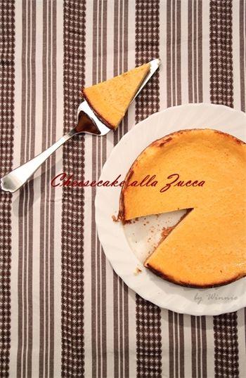 南瓜乳酪蛋糕食譜 by Winnie玩味煮義 | Recipe | Food, Recipes