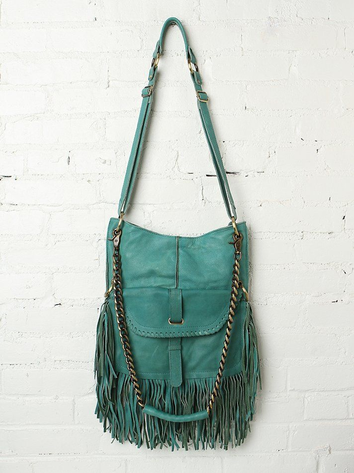77a58e786584 Cut n Paste Lia Fringe Chain Tote at Free People