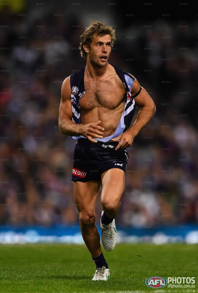 Round four - Matt de Boer of the Dockers. Playing against swans and Sydney lost 74-60